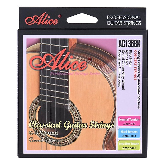 Dây Guitar CLASSIC ALICE AC136BK