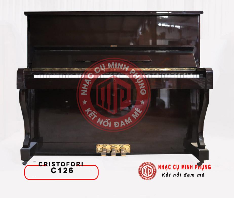 Đàn piano cơ Cristofori C126