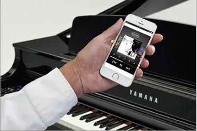 Đàn Piano Điện Yamaha CLP 695 GP WH