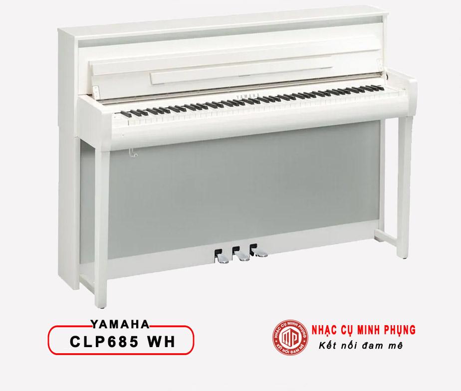 Đàn Piano Điện Yamaha CLP 685 PWH