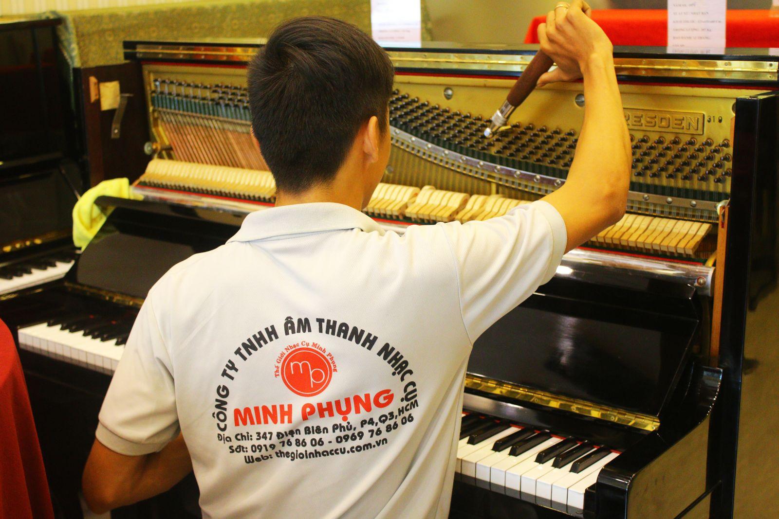 bảo dưỡng sửa chữa đàn piano