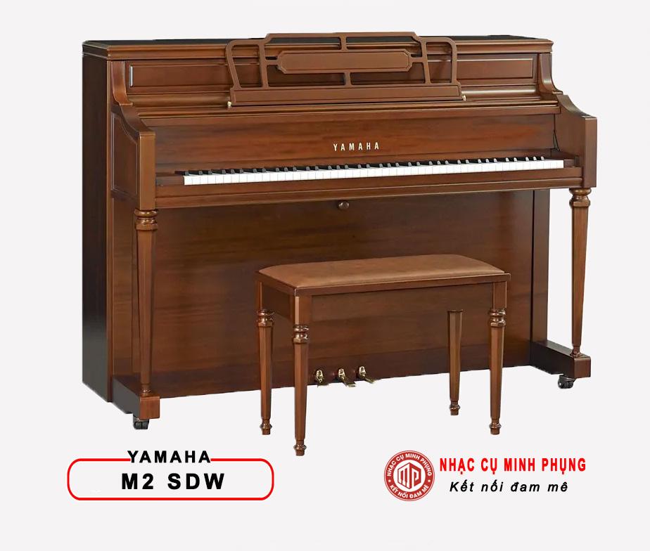 Đàn Piano Cơ Yamaha M2 SDW