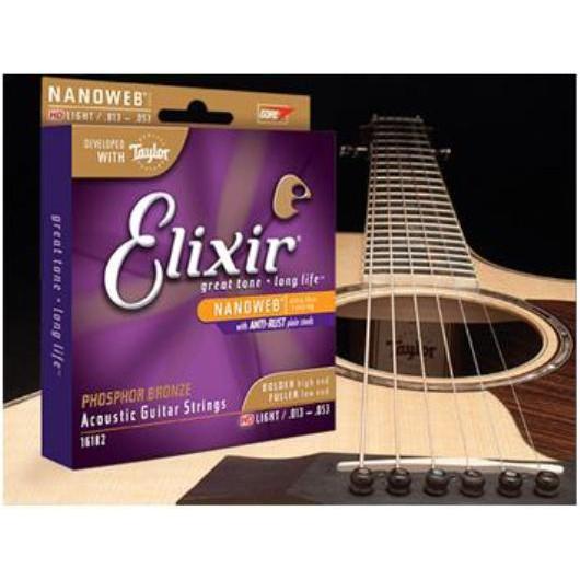 Bộ Dây Guitar Acoustic Elixer 16544