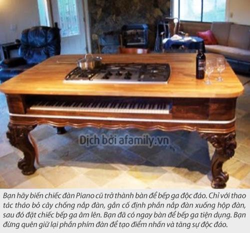 Tan dung dan Piano cu thanh do dung tien dung