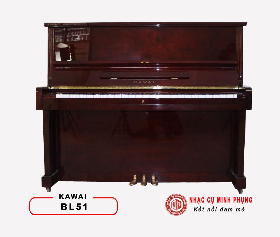 ĐÀN PIANO CƠ KAWAI BL51 (Màu gỗ)