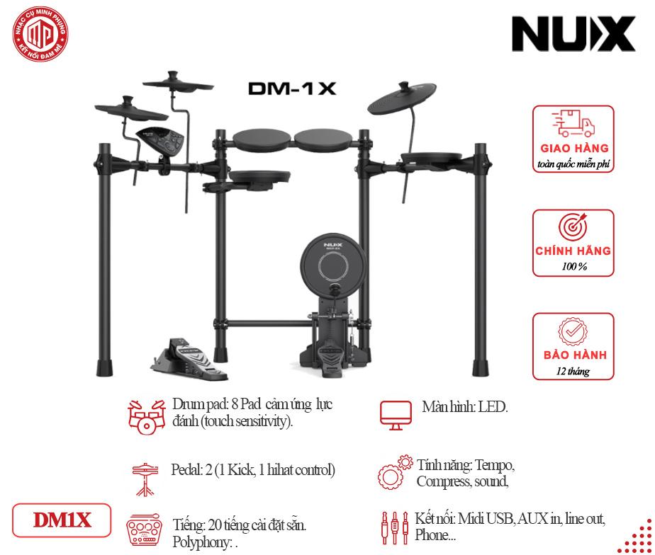Trống điện tử Nux DM1X
