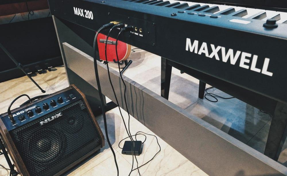 Hướng dẫn sử dụng Piano điện Maxwell 200