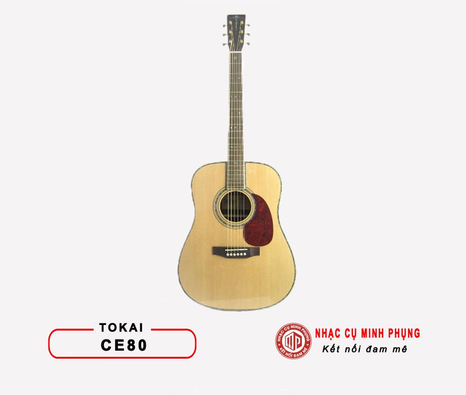 Đàn Guitar Acoustic Tokai CE80