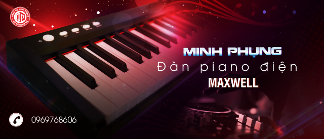 Đàn Piano maxwell