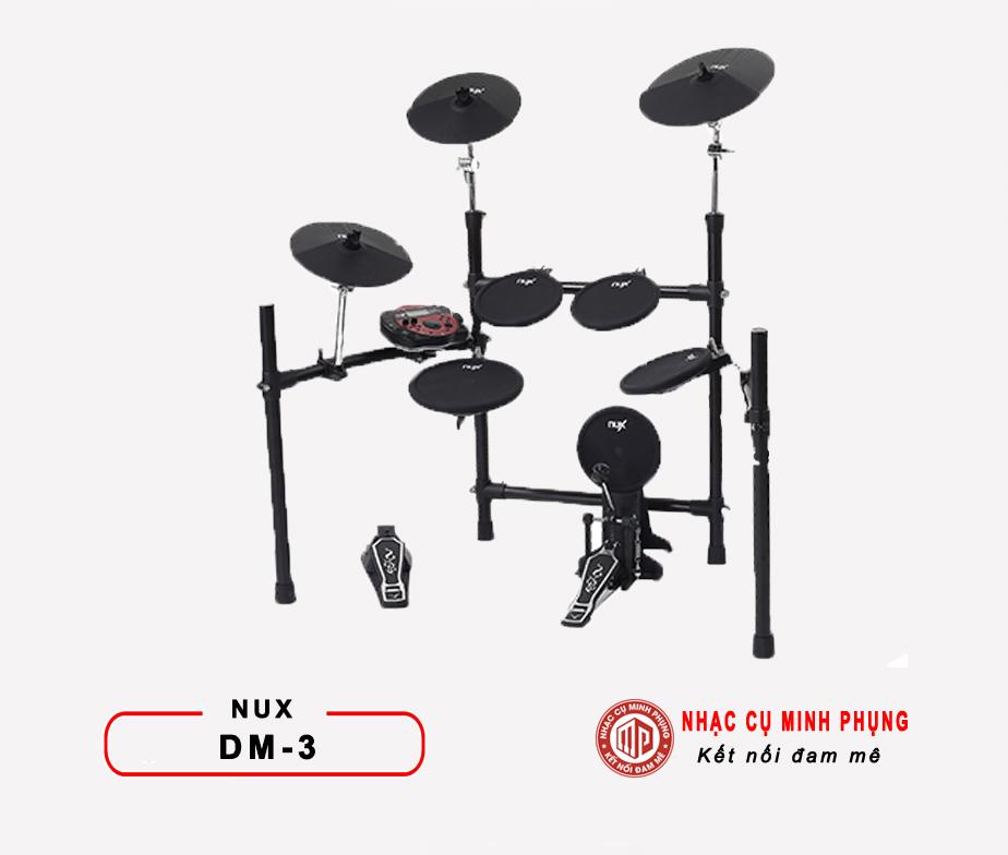 Trống điện tử Nux DM3