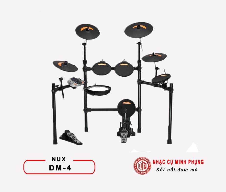 Trống điện tử Nux DM4