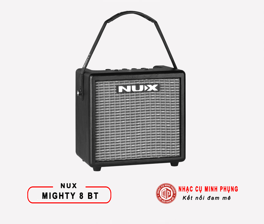 Amplifier Nux Guitar Điện Mighty 8BT