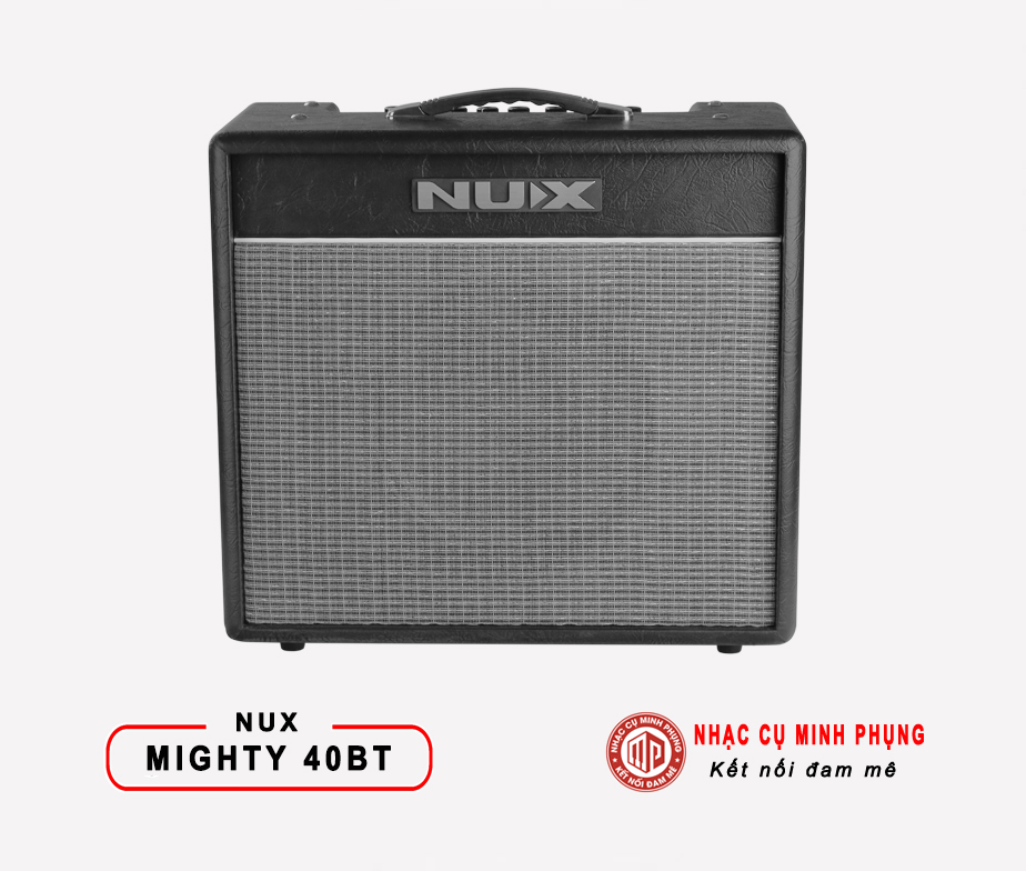 Amplifier Nux Guitar Điện Mighty 40BT