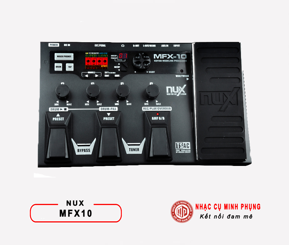 Phơ Guitar (Multi Effects) Nux MFX-10