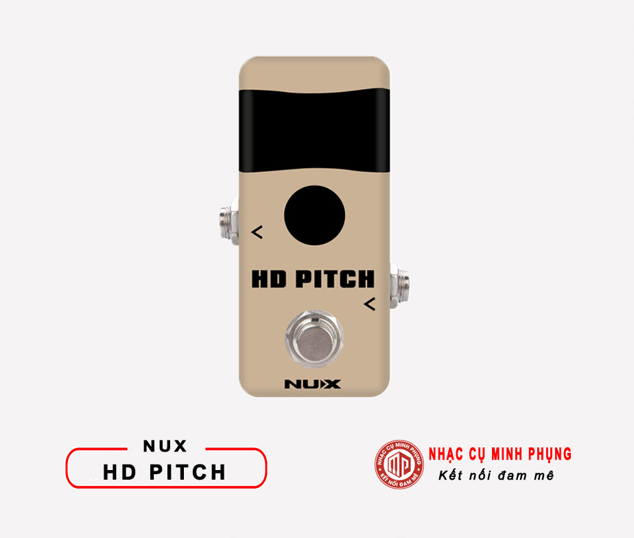 Mini Pedal Tuner Nux HD Pitch