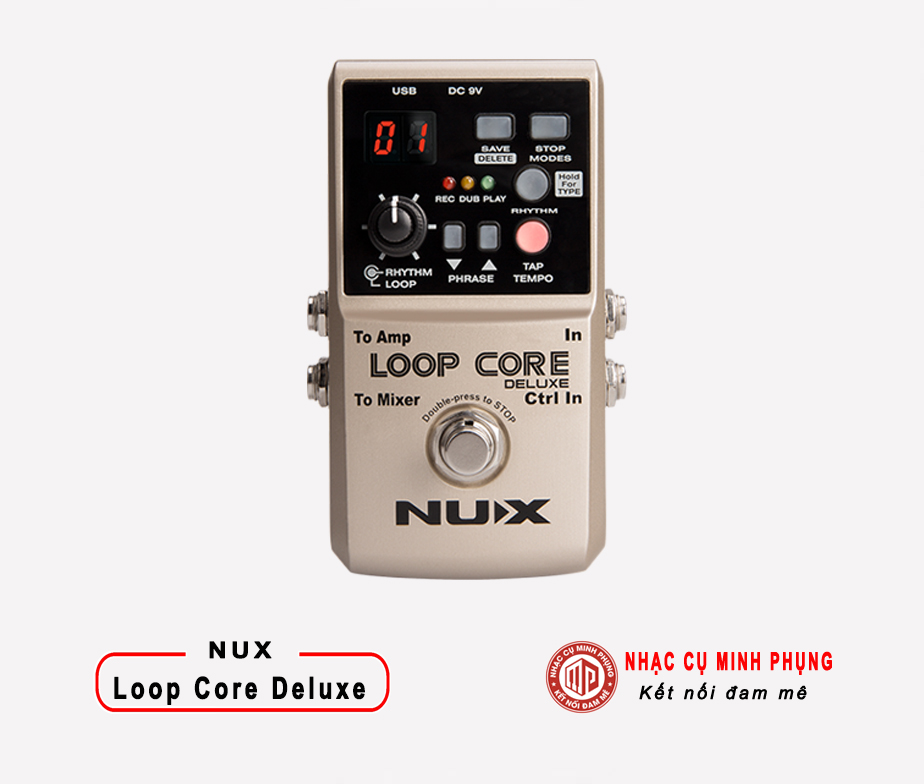 Looper Pedal Nux Loop Core Delux