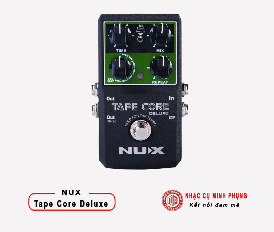 Echo Pedal Nux Tape Core Deluxe