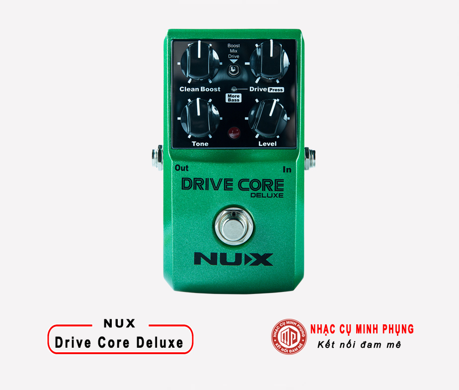 Blues Driver Pedal Nux Drive Core Deluxe