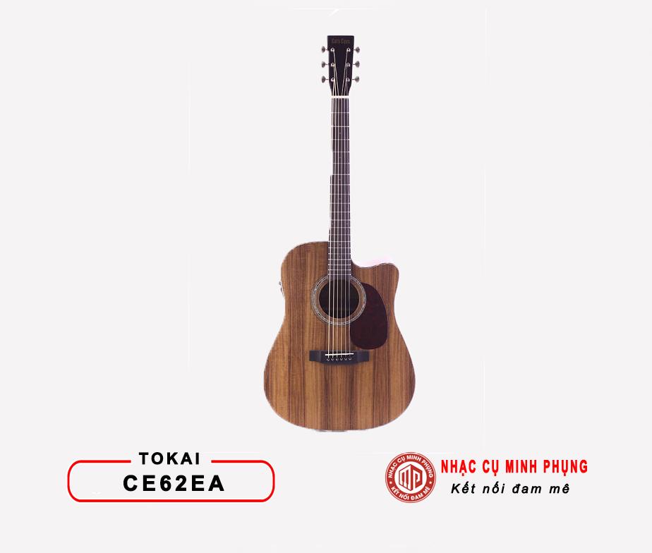 Đàn Guitar Acoustic Tokai CE62EA