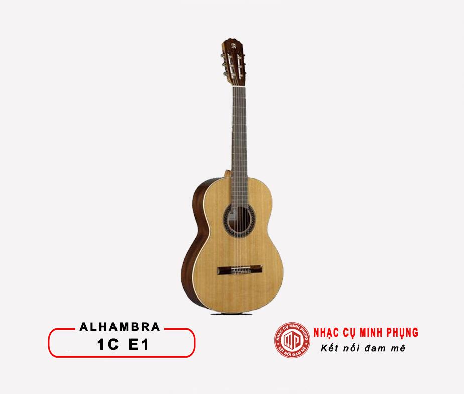 Đàn Guitar Classic Alhambra 1C E1