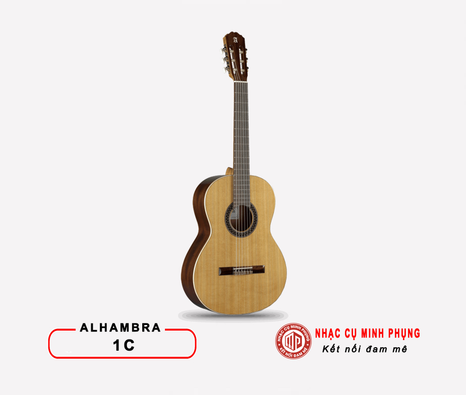 Đàn Guitar Classic Alhambra 1C