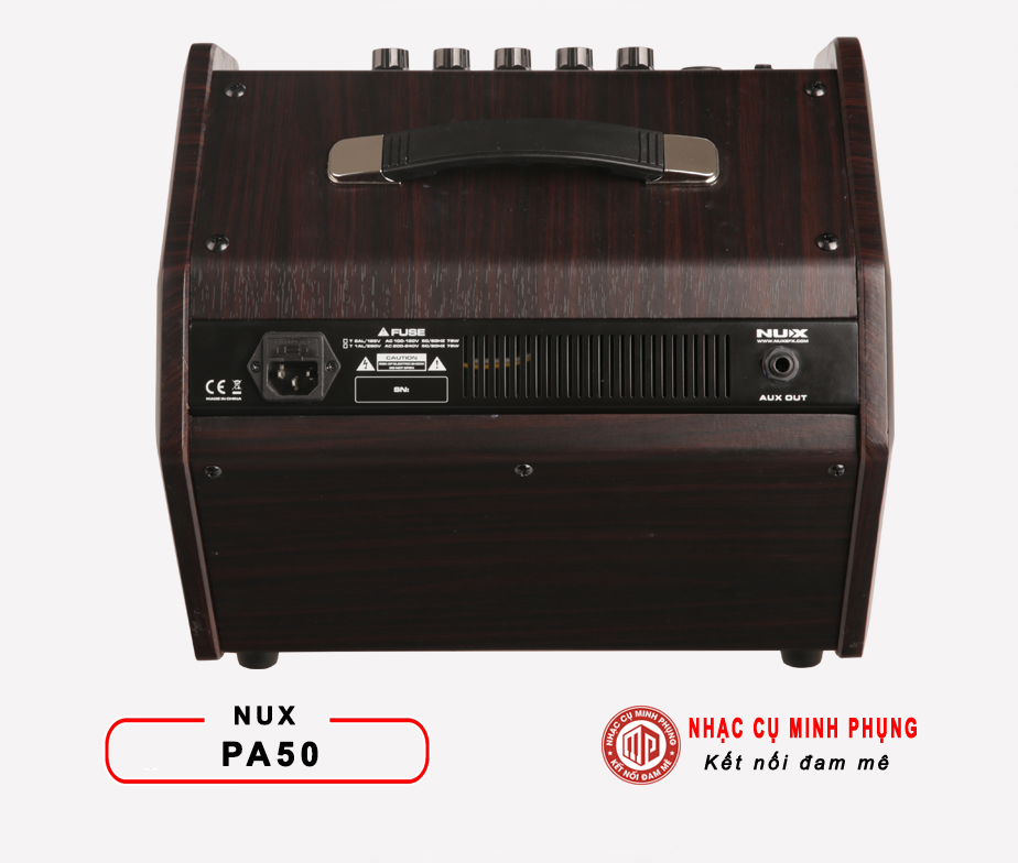 Amplifier Monitor Nux PA50