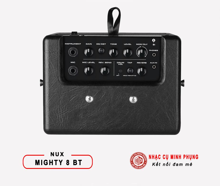 Amplifier Nux Guitar Điện Mighty 8BT