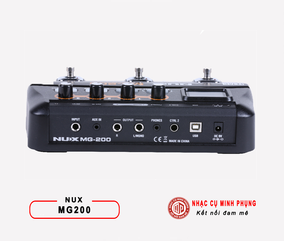Phơ Guitar (Multi Effects) Nux MG-200