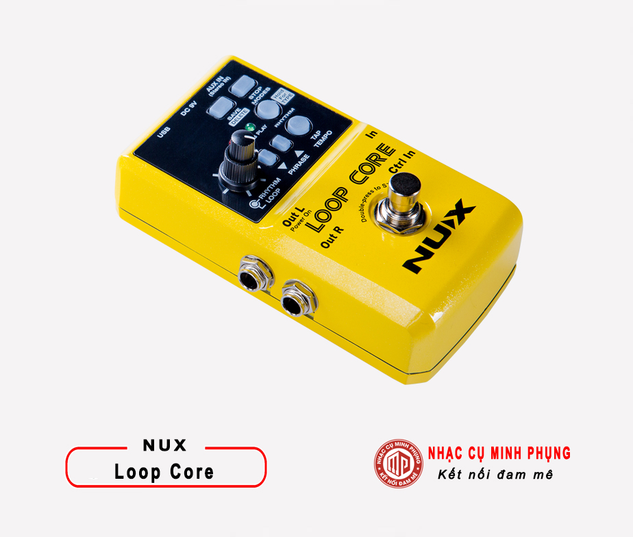 Looper Pedal Nux Loop Core