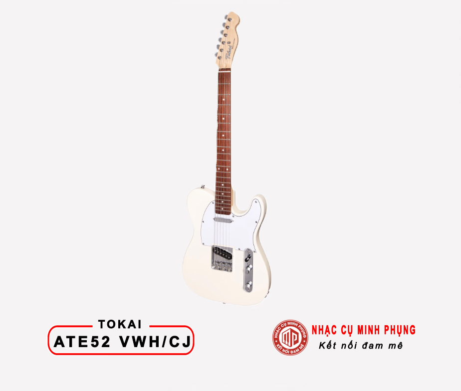 Đàn Guitar Điện Tokai ATE52 VWH/CJ