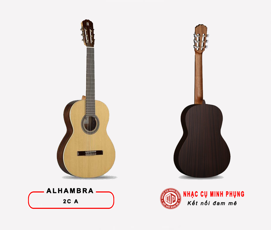 Đàn Guitar Classic Alhambra 2C A