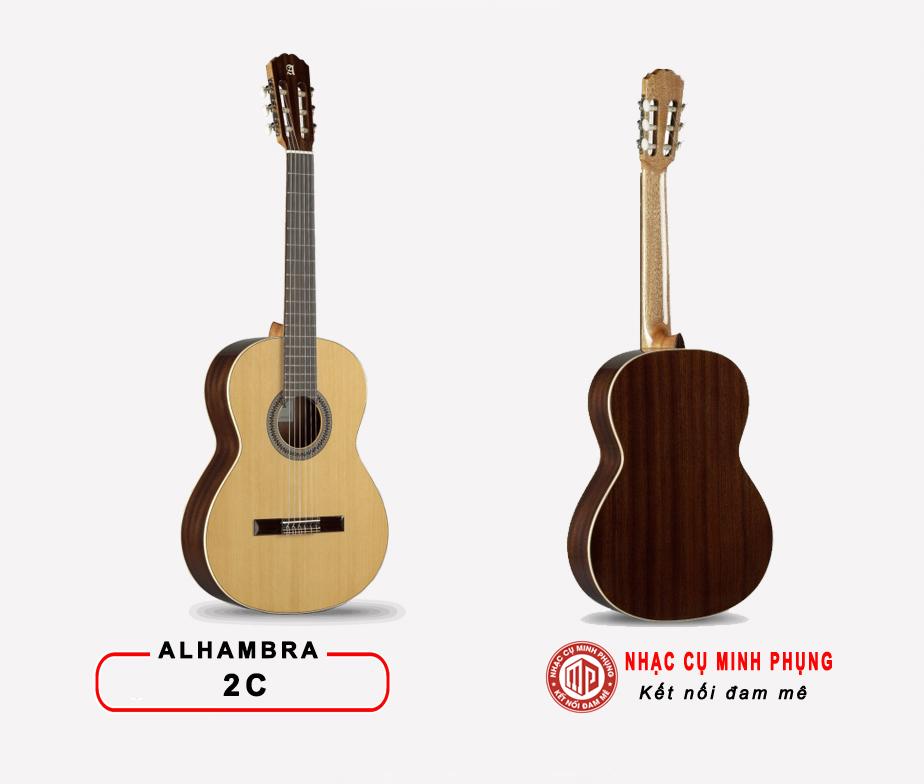 Đàn Guitar Classic Alhambra 2C