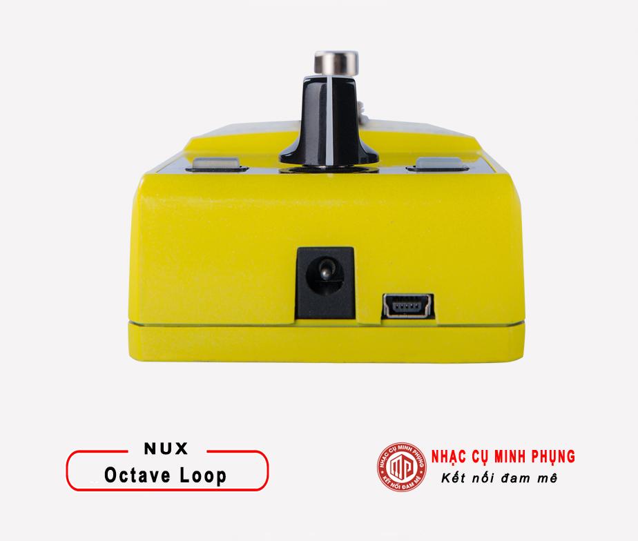 Looper Pedal Nux Octave loop