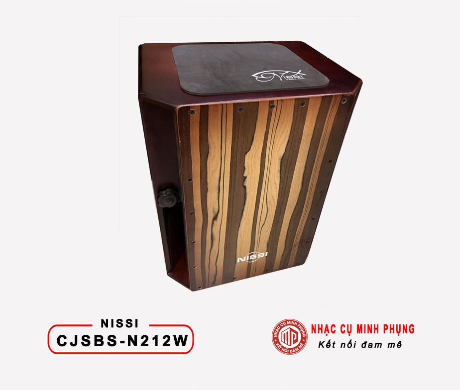 TRỐNG CAJON NISSI CJSBSN212W