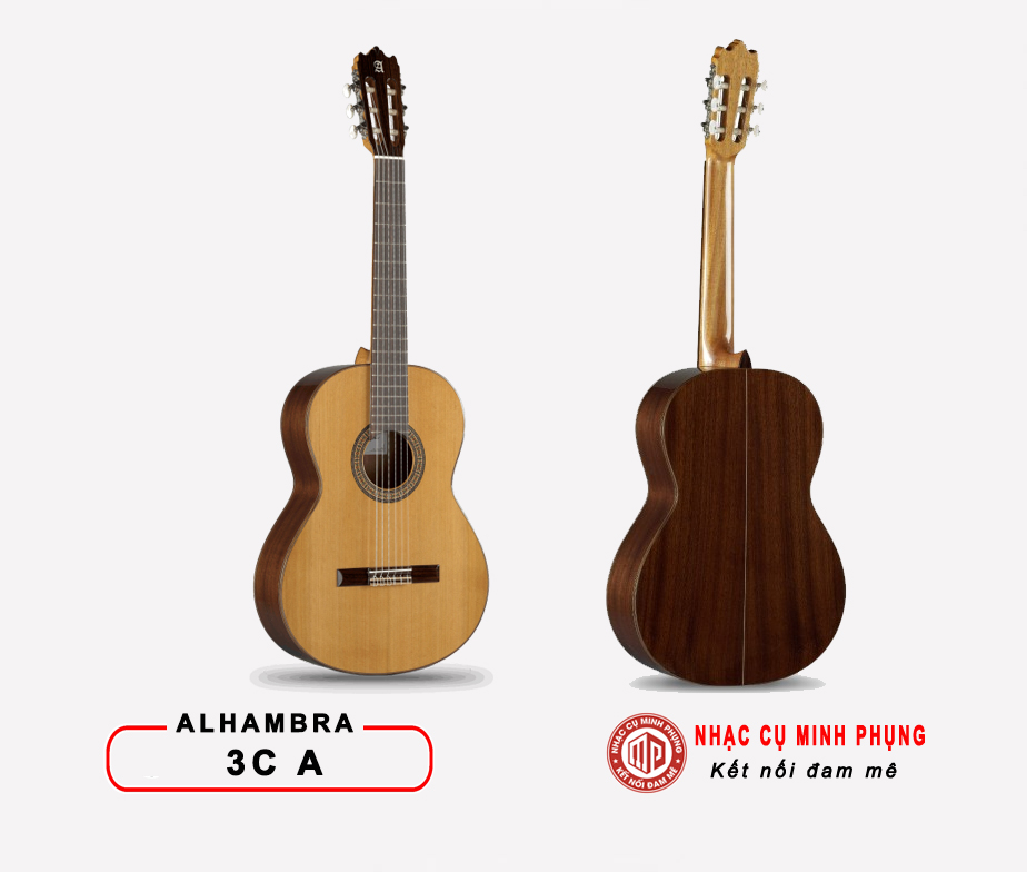 Đàn Guitar Classic Alhambra 3 CA