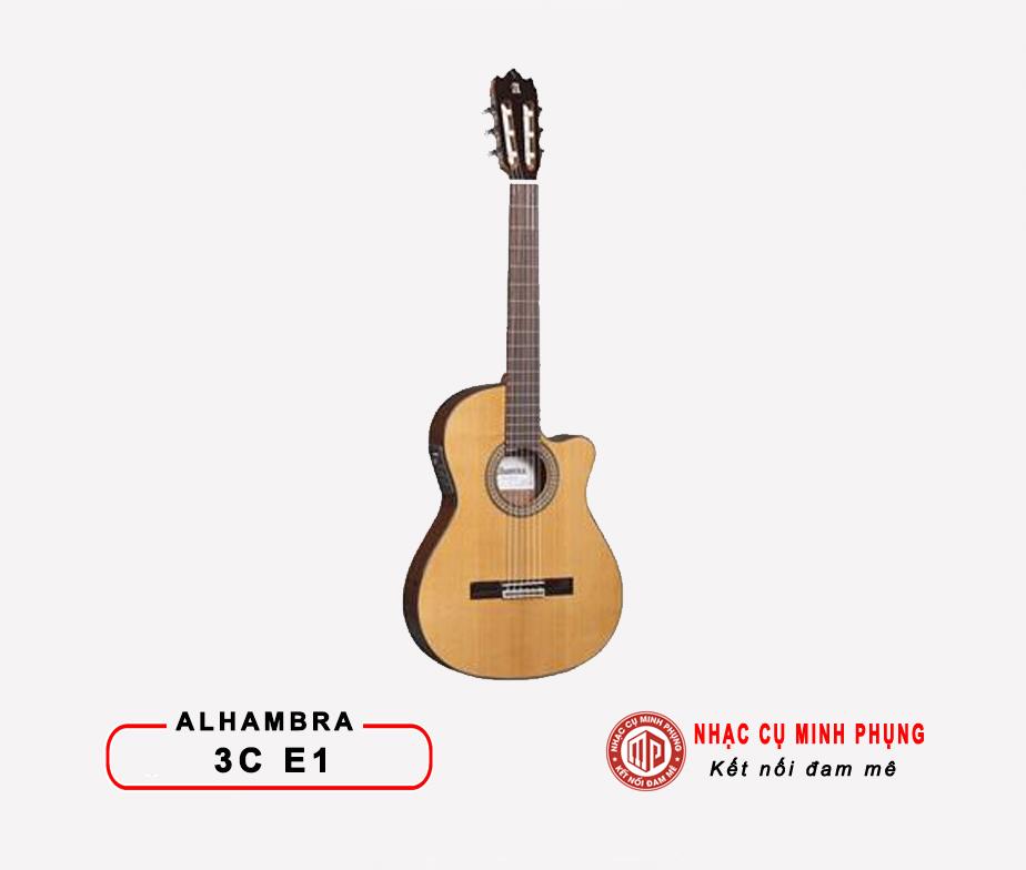 Đàn Guitar Classic Alhambra 3C E1