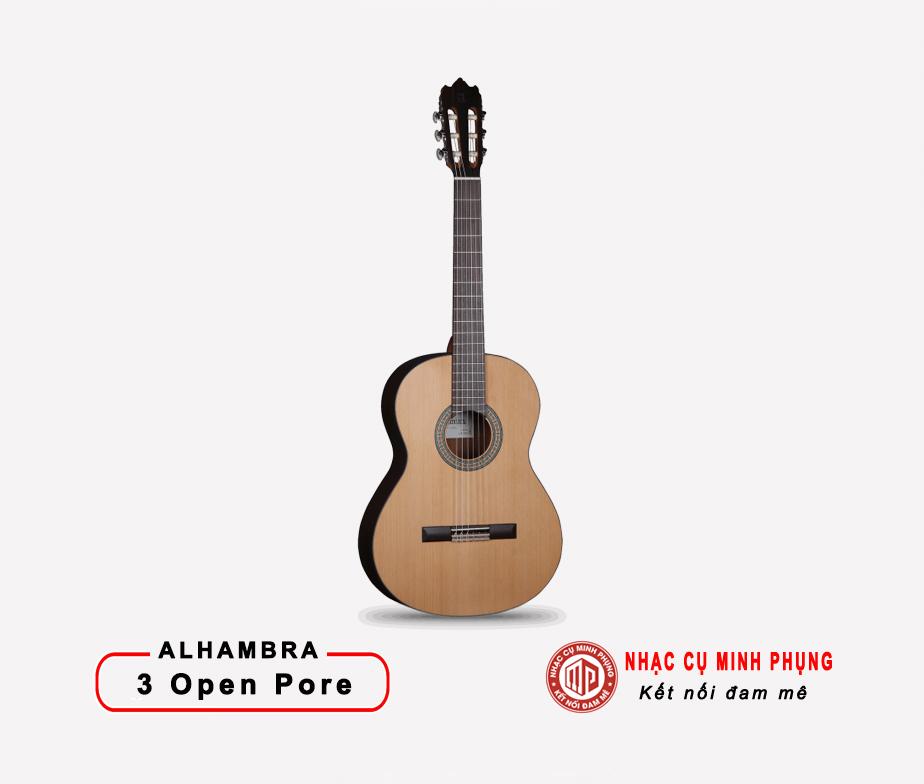 Đàn Guitar Classic Alhambra 3 OP