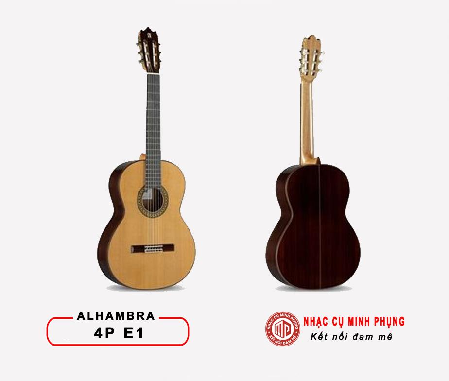 Đàn Guitar Classic Alhambra 4P E1