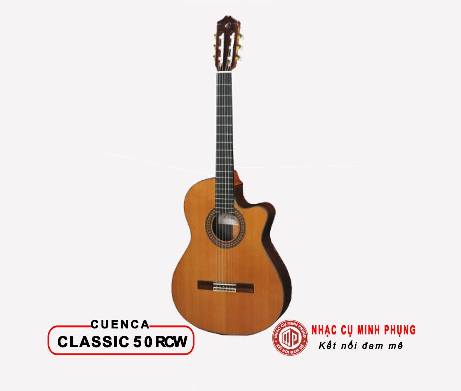 Đàn Guitar Classic Cuenca 50RCW