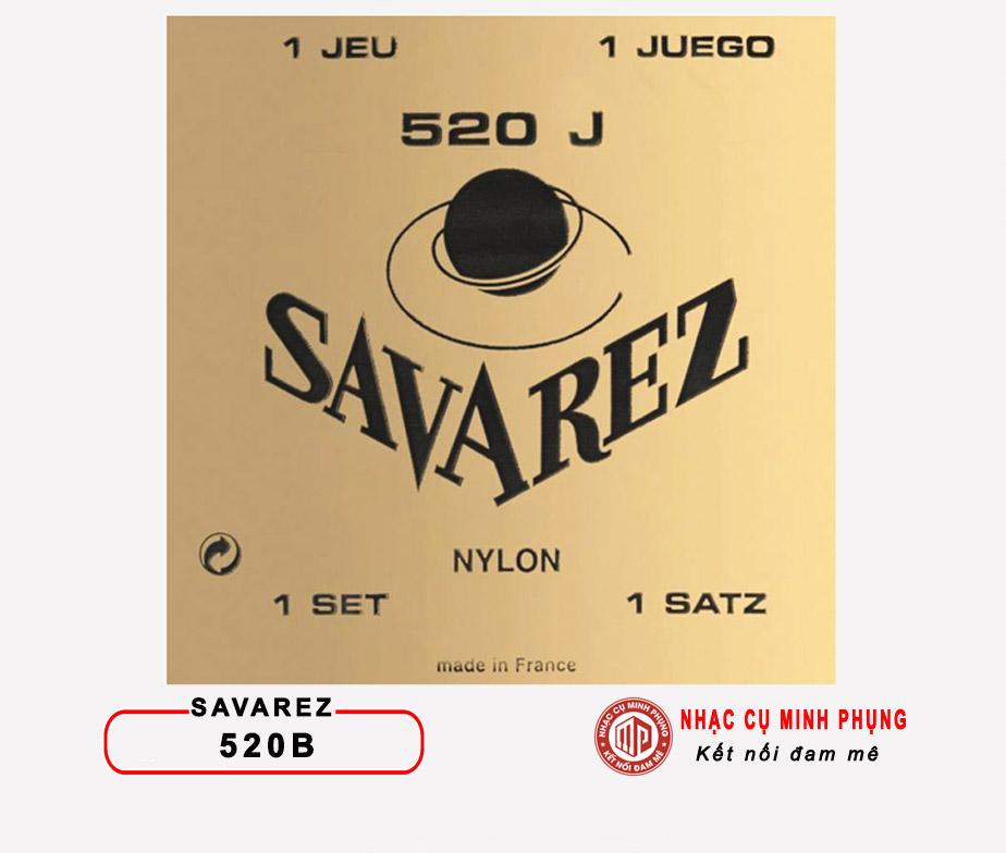 Dây Guitar CLASSIC SAVAREZ 520J