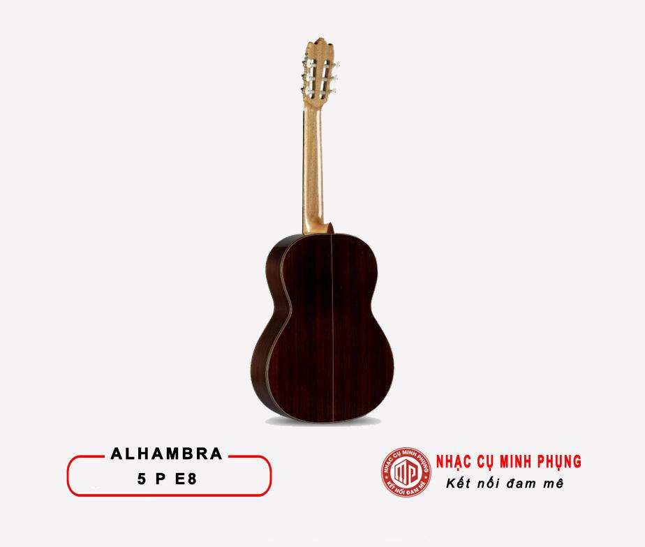 Đàn Guitar Classic Alhambra 5P E8