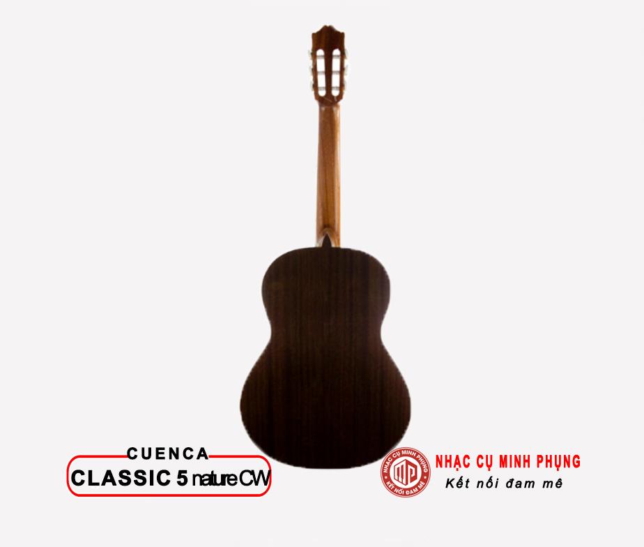 Đàn Guitar Classic Cuenca 5 Nature CW