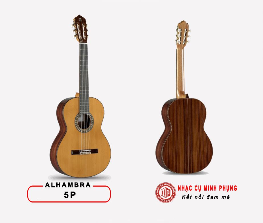 Đàn Guitar Classic Alhambra 5P