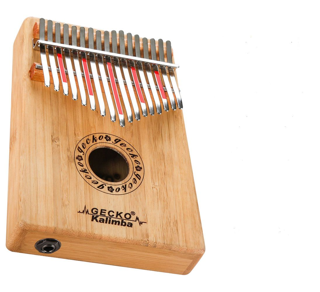 Đàn Kalimba Gecko 17 Phím K17BAEQ (Có EQ - Gỗ Trúc - Mbira Thumb Finger Piano 17 Keys)