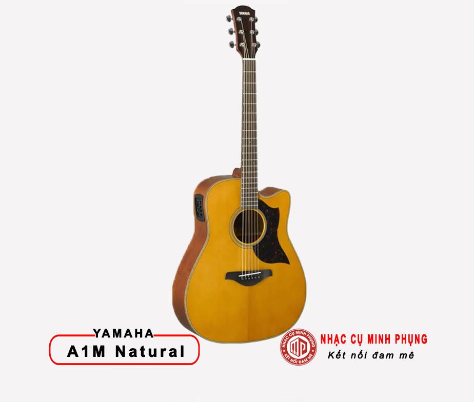 Đàn Guitar Acoustic Yamaha A1M Vintage Natural
