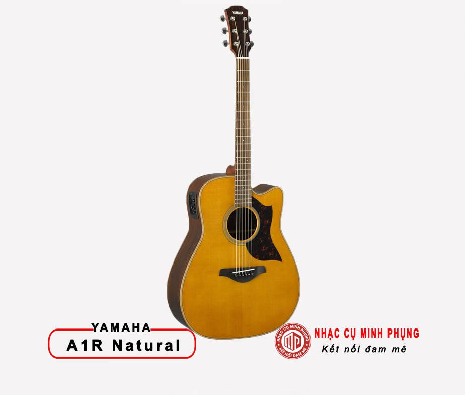 Đàn Guitar Acoustic Yamaha A1R Vintage Natural
