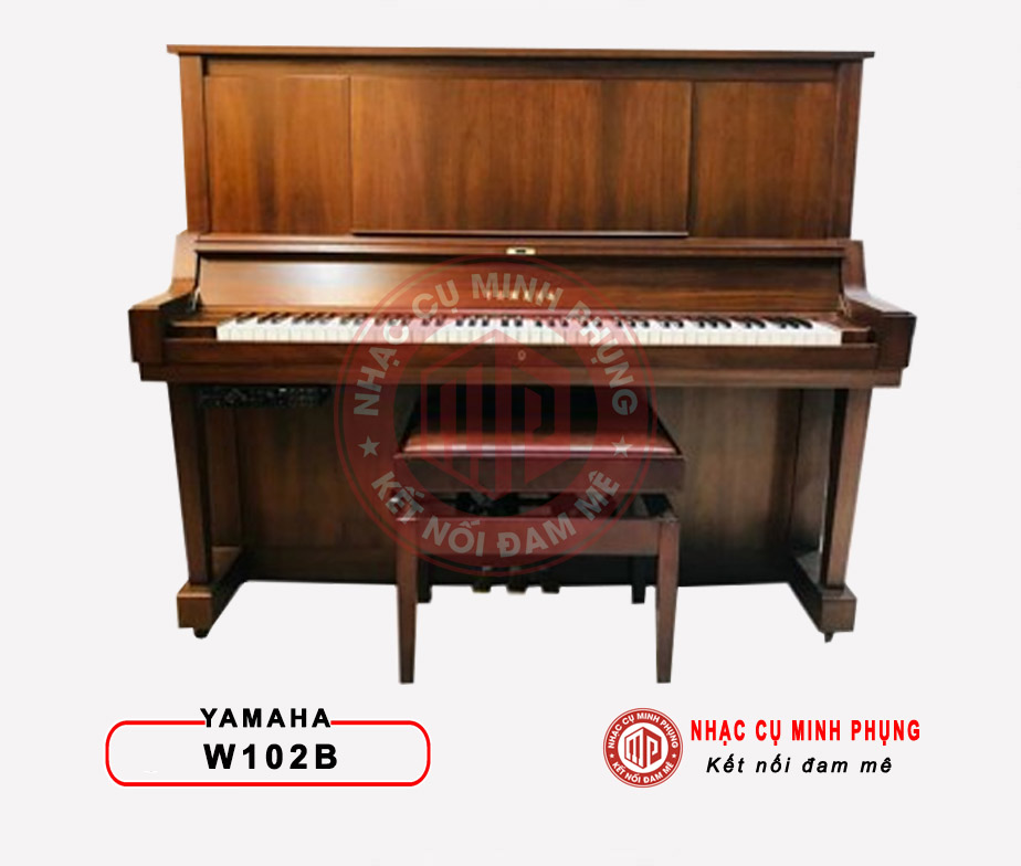 Đàn piano cơ Yamaha W102B