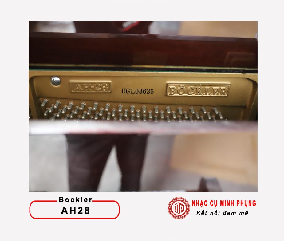ĐÀN PIANO CƠ BOCKLER AH28