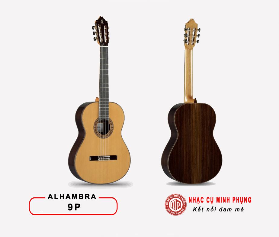 Đàn Guitar Classic Alhambra 9P