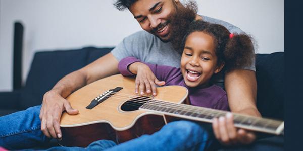 Âm nhạc gắn kết cha con